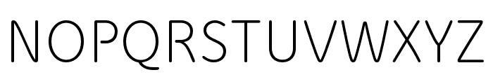 Speak Pro Regular Font UPPERCASE