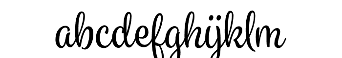 Spumante Regular plus Shadow Regular Font LOWERCASE
