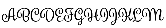 Spumante Shadow Regular Font UPPERCASE