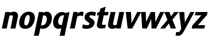 Stalemate Pro Heavy Italic Font LOWERCASE