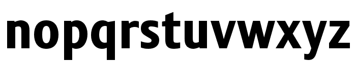 Stalemate Pro Heavy Font LOWERCASE
