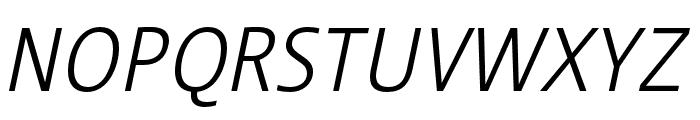 Stalemate Pro Light Italic Font UPPERCASE