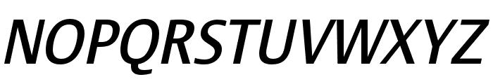 Stalemate Pro Medium Italic Font UPPERCASE