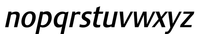 Stalemate Pro Medium Italic Font LOWERCASE