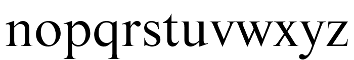 Starling Book Font LOWERCASE