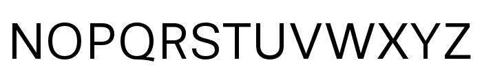 Stevie Sans Book Font UPPERCASE