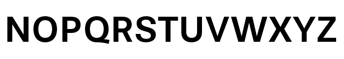 Stevie Sans Medium Font UPPERCASE