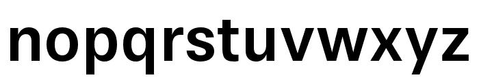 Stevie Sans Medium Font LOWERCASE