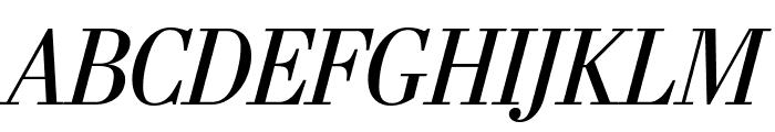 StilsonDisplay Italic Font UPPERCASE
