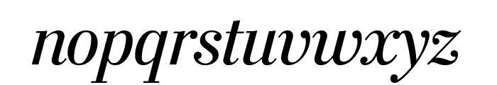 StilsonDisplay Italic Font LOWERCASE