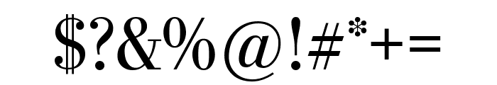 StilsonDisplay Regular Font OTHER CHARS