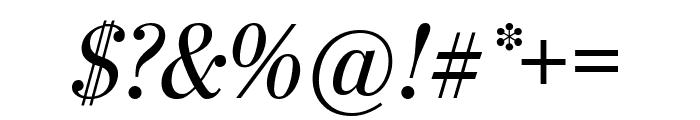 StilsonDisplayCond Italic Font OTHER CHARS