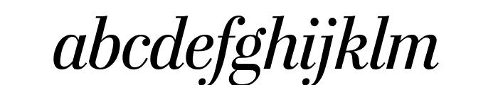 StilsonDisplayCond Italic Font LOWERCASE