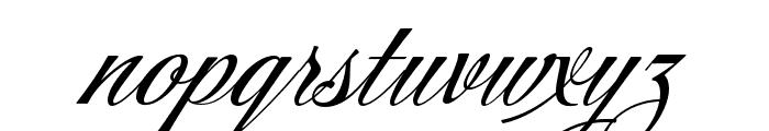 Storefront Pro Regular Font LOWERCASE