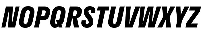 Stratos Bold Italic Font UPPERCASE