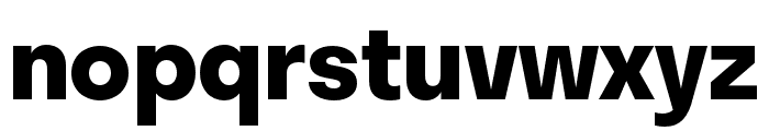 Stratos Bold Font LOWERCASE