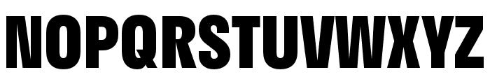 Stratos ExtraBold Font UPPERCASE