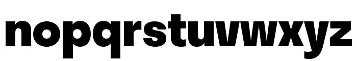 Stratos ExtraBold Font LOWERCASE