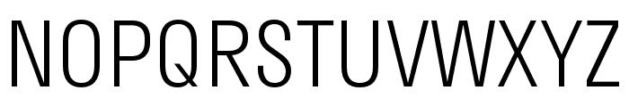Stratos Light Font UPPERCASE