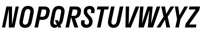 Stratos Medium Italic Font UPPERCASE