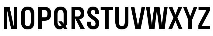 Stratos Medium Font UPPERCASE