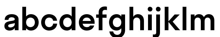 Stratos Medium Font LOWERCASE