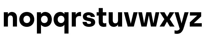 Stratos SemiBold Font LOWERCASE