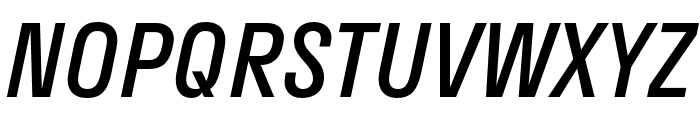 Stratos SemiLight Italic Font UPPERCASE