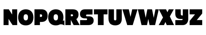 Strenuous 3D Font UPPERCASE