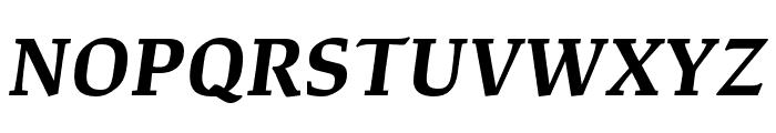 Study Bold Italic Font UPPERCASE