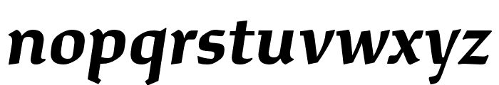 Study Bold Italic Font LOWERCASE