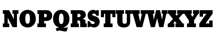 Stymie Black Font UPPERCASE