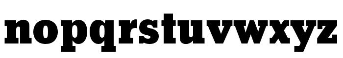 Stymie Black Font LOWERCASE