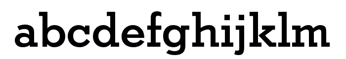 Stymie Cond Medium Font LOWERCASE