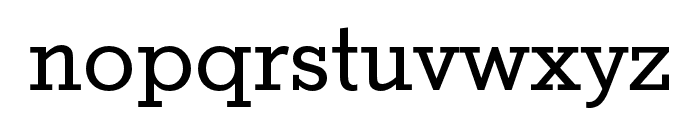 Stymie Cond Regular Font LOWERCASE