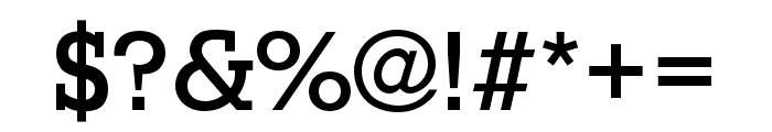 Stymie Medium Font OTHER CHARS