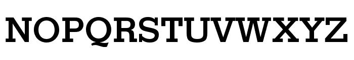 Stymie Medium Font UPPERCASE