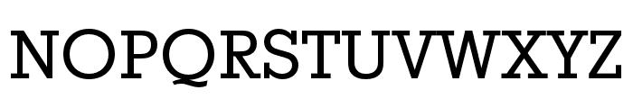 Stymie Regular Font UPPERCASE