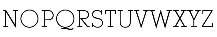 Stymie SC Light Font UPPERCASE