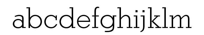 Stymie SC Light Font LOWERCASE