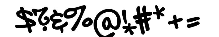 Subway NewYork Std Regular Font OTHER CHARS