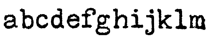 Sunflower Regular Font LOWERCASE