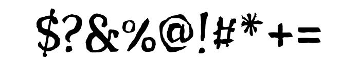 Sunshine Regular Font OTHER CHARS