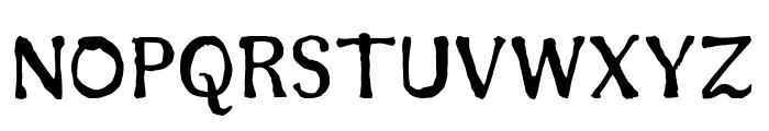 Sunshine Regular Font UPPERCASE