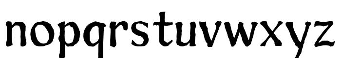 Sunshine Regular Font LOWERCASE
