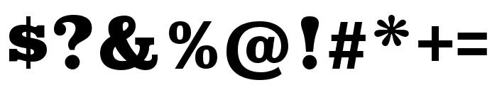 Superclarendon Black Font OTHER CHARS
