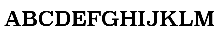 Superclarendon Regular Font UPPERCASE