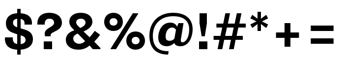 Supria Sans Cond Bold Font OTHER CHARS