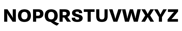 Supria Sans Cond Heavy Font UPPERCASE