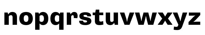 Supria Sans Cond Heavy Font LOWERCASE